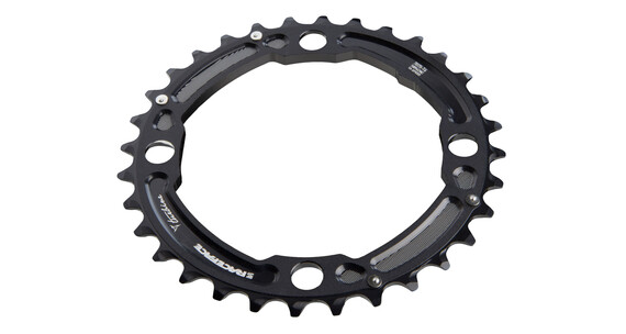 Race Face Turbine Chainring 104 BCD 10 Speed schwarz